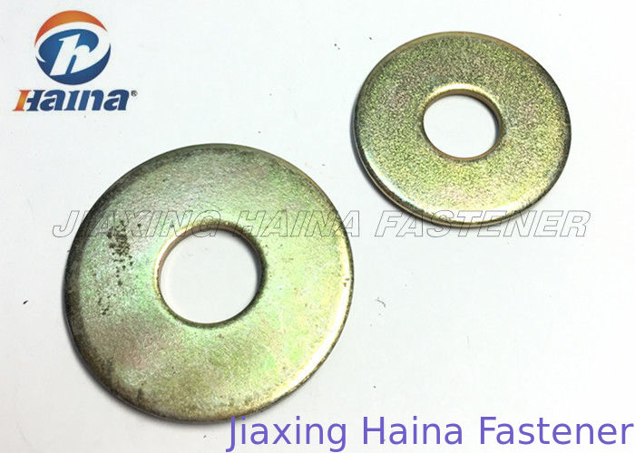 Round Head Flat Washers A Type , Flat Steel Washers For Mechanical Machine